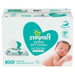 Pampers Sensitive Baby Wipes . **Free Shipping ***