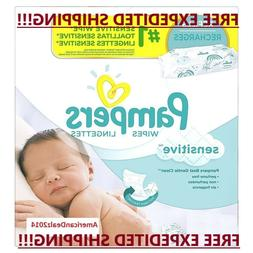 Pampers Sensitive Baby Wipes 18, 64, 192, 800, 1024, 2048 Co