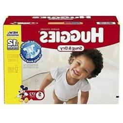 Huggies Snug & Dry, 172-Count, 27 Pounds, Size-5 Baby Diaper