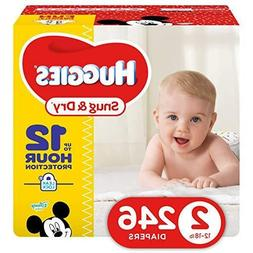 snug and dry baby diapers size 2