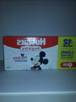 Huggies Snug and Dry Diapers Disney Mickey Mouse Design  Si