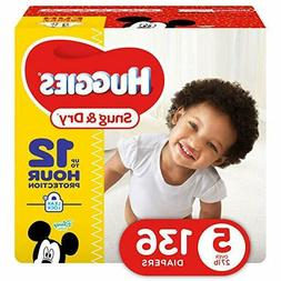 Snug & Dry Diapers Size 5 136 Count