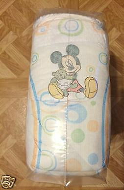 Huggies Snug & Dry Mickey Mouse Print Disposable Diapers Sz.
