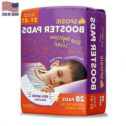 Sposie Adhesive Overnight Diaper Booster Pads for Regular Pu