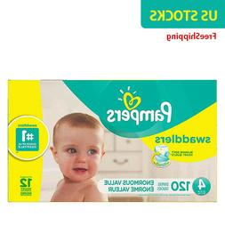 Pampers® Swaddlers™ 120-Count Size 4 Pack Diapers - NewFr
