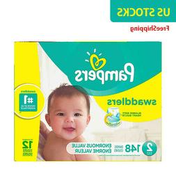 Pampers® Swaddlers™ 148-Count Size 2 Pack Diapers - NewFr