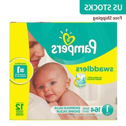 Pampers® Swaddlers™ 164-Count Size 1 Pack Diapers - NewFr