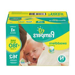 Pampers, Swaddlers Diapers, Newborn Size 1 2 3 4 5 6 - PICK