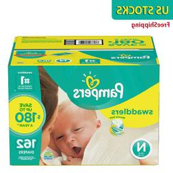 Pampers Swaddlers Diapers Size 1 2 3 4 - SELECT SIZE & QUANT