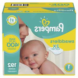 Pampers Swaddlers Disposable Diapers 192 Count Size 1 Baby 8