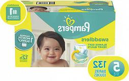 Pampers Swaddlers Disposable Diapers Size 5  *Free 2 day Shi