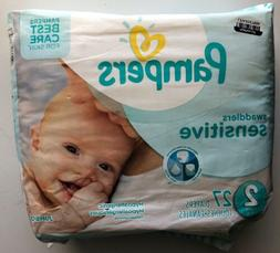 Pampers Swaddlers Sensitive Diapers Size 2 , 27 Diapers