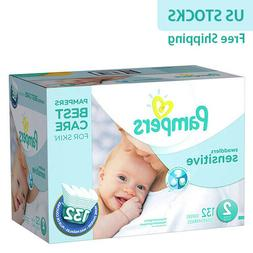 Pampers Swaddlers Sensitive Economy Pack Diapers Size 1 2 3
