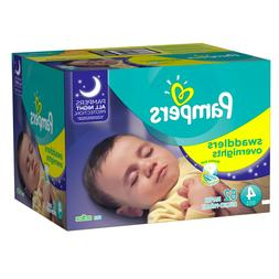 Pampers Swaddlers Soft and Absorbent Overnights Diapers Size