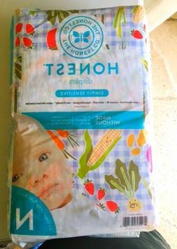 The Honest Company Diapers, Newborn, Simply Sensitive, Garde