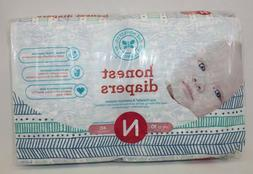 The Honest Co. Teal Tribal Newborn Disposable Diapers 40 Cou