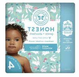 THE HONEST COMPANY DISPOSABLE BABY DIAPERS Bunnies 2 PACK Si