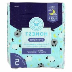 The Honest Company - Overnight Diapers Size 5 - Sleepy Sheep