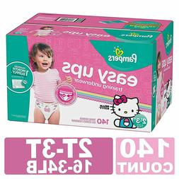 Pampers Training Pants Pull On Disposable Diapers for Girls,