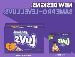 Luvs Pro Level  Disposable Diapers Size 1, 2, 3, 4, 5, 6