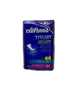 GoodNites TRU FIT Refill Pack For Boys And Girls L-XL 60-100
