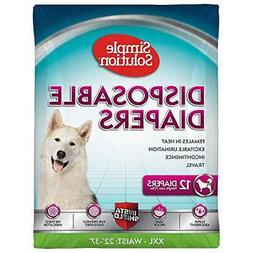 true fit disposable dog diapers for female