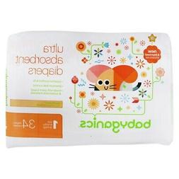BabyGanics - Ultra Absorbent Diapers Stage 1 (8