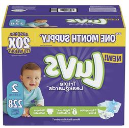 Luvs Ultra Leakguards Diapers Size 2, -228 ct.