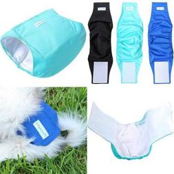 Washable Dog Belly Wrap Diapers For Male 3 Pack Classic Set