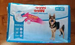 Wee-Wee Products Disposable Dog Diapers , Large/X-Large