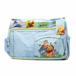 Disney Winnie the Pooh & Friends Large Diaper Bag for Baby E